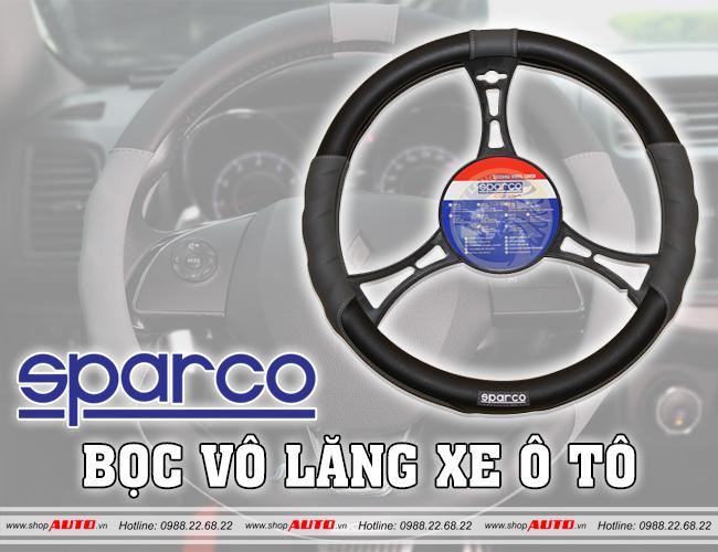 Bọc vô lăng ô tô SPARCO cho xe Mitsubishi Pajero Sport