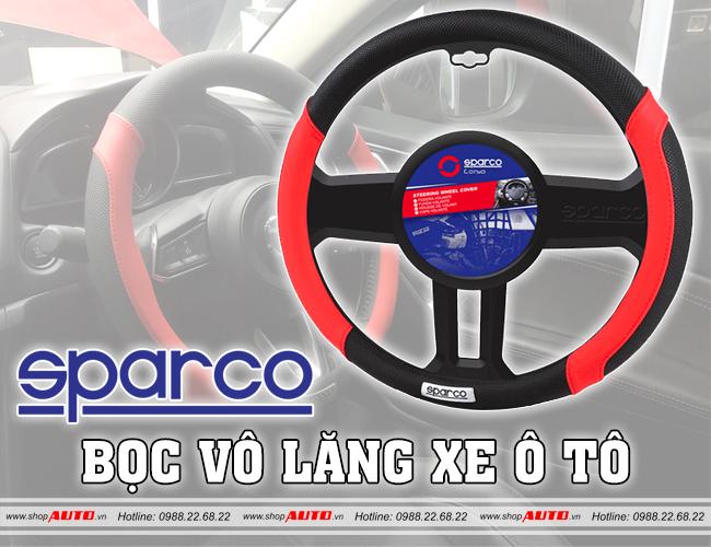 Bọc vô lăng ô tô Sparco cho xe Chevrolet Trax