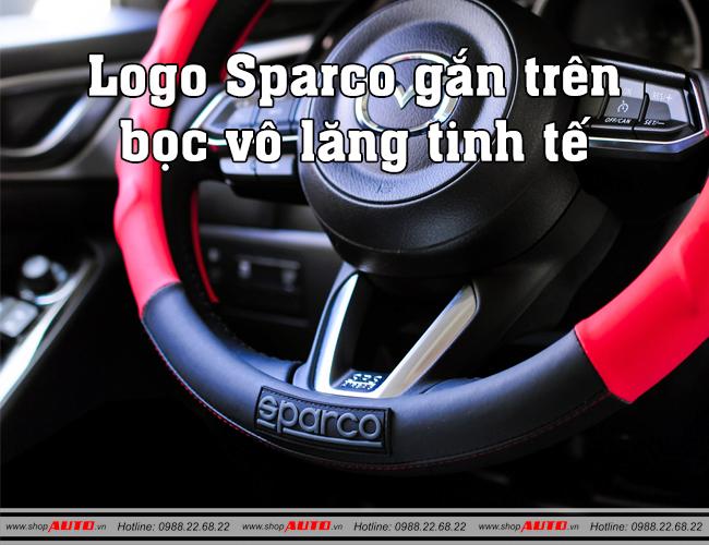 Bọc vô lăng Sparco cho vô lăng ô tô