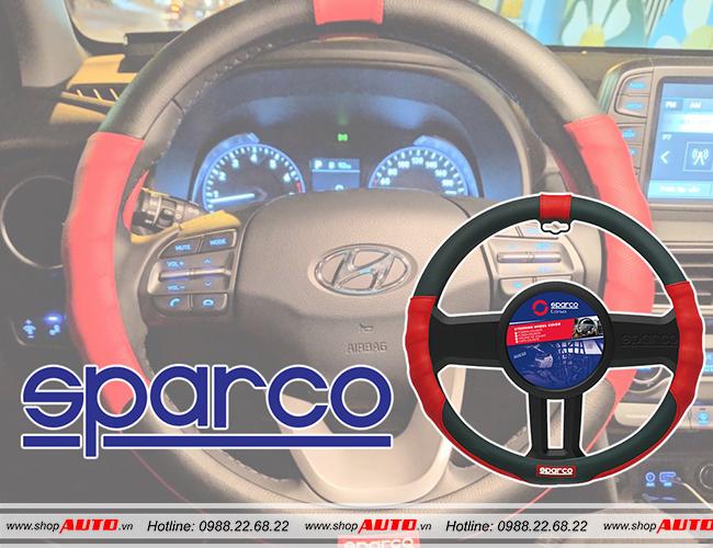 Bọc vô lăng ô tô SPARCO cho xe Hyundai i10