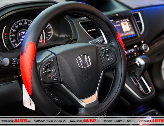 Bọc vô lăng cho xe Honda HRV