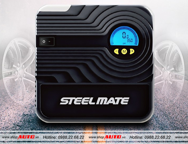 Bơm lốp Steelmate P05 cho xe Ford Ecosport