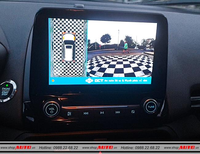 Camera 360 độ DCT cho xe Ford Ecosport