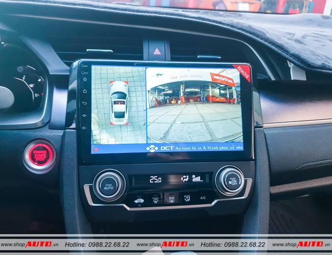 Camera 360 độ DCT cho xe Honda Civic