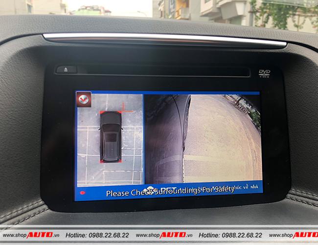 Hiển thị hình ảnh bên phải khi có tín hiệu xi nhan trên xe