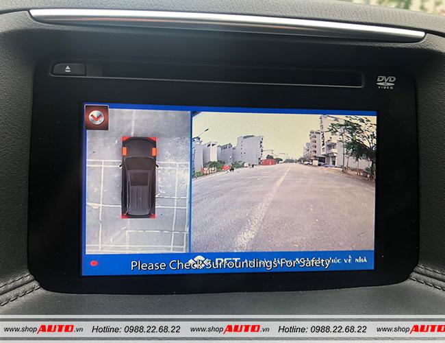 Hiển thị toàn cảnh phía trước cho người lái tầm nhìn tốt nhất.