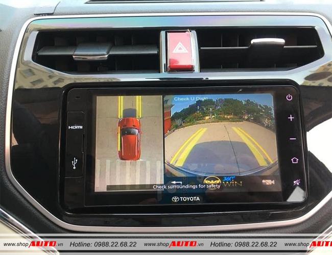 Camera 360 độ cho xe Toyota Rush