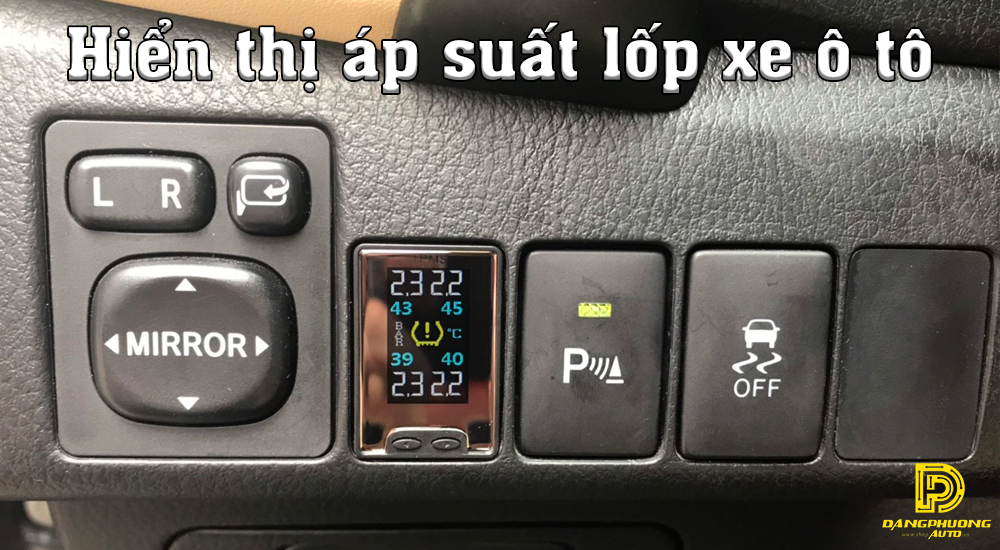 Cảm biến áp suất lốp Toyota Hilux