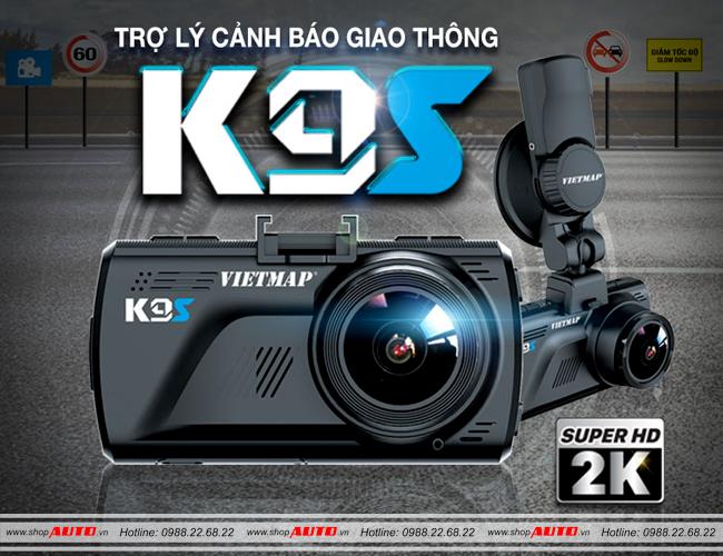 Camera hành trình ô tô VietMap K9S