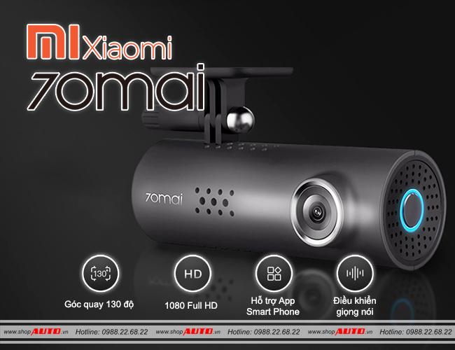 Camera hành trình Xiaomi 70maiCamera hành trình Xiaomi 70mai cho xe ô tô Nissan Juke