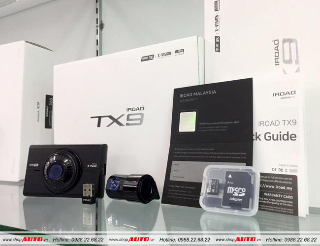 Camera hành trình IROAD TX9 cho xe Ford Fiesta