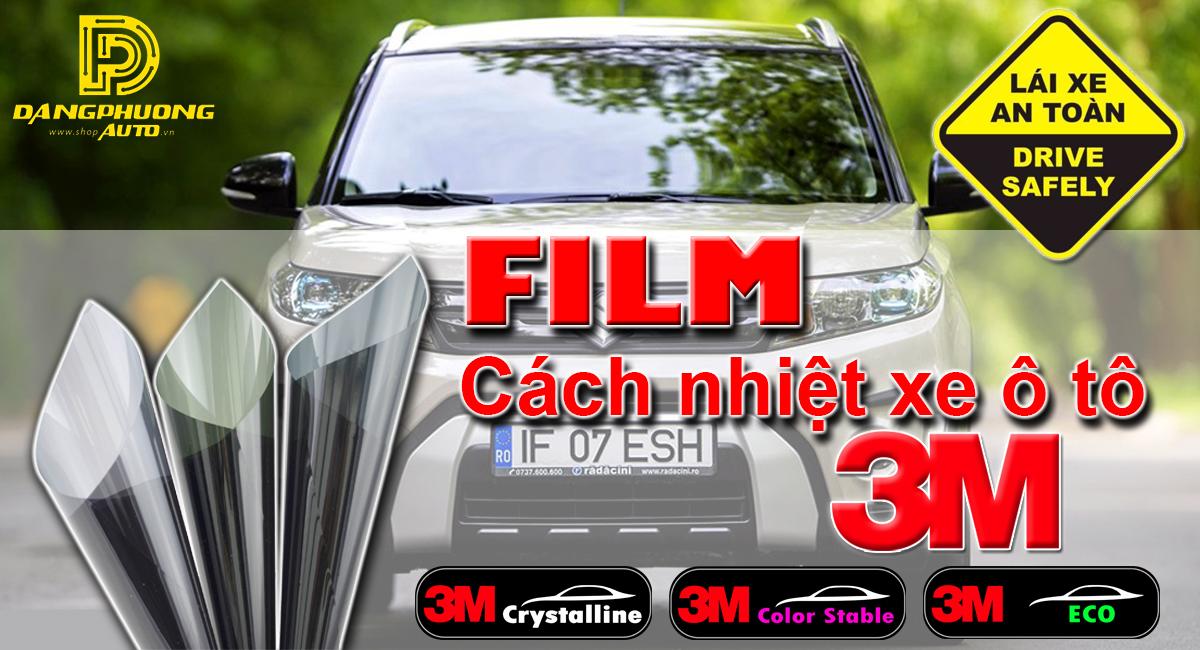 Phim cách nhiệt 3M Crystalline