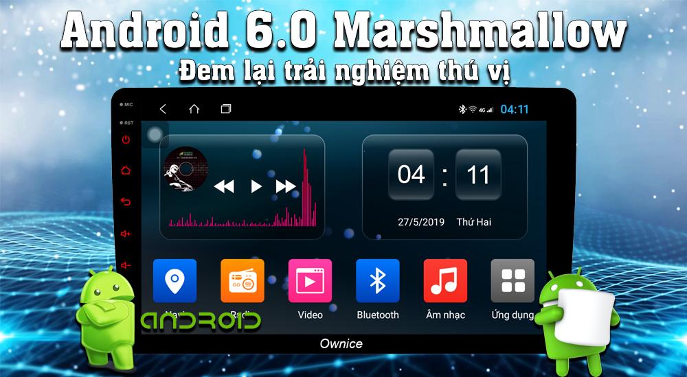Đầu DVD Android Ownice C500+ cho ô tô