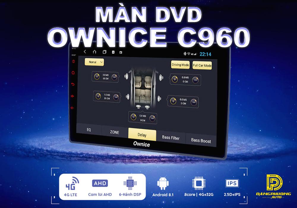 đầu DVD android Ownice cho xe ô tô