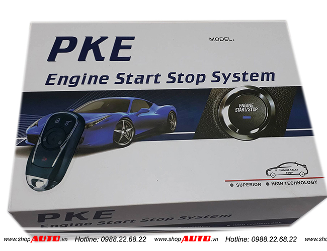 Đề nổ từ xa Engine Start Stop Smart Key Toyota Altis
