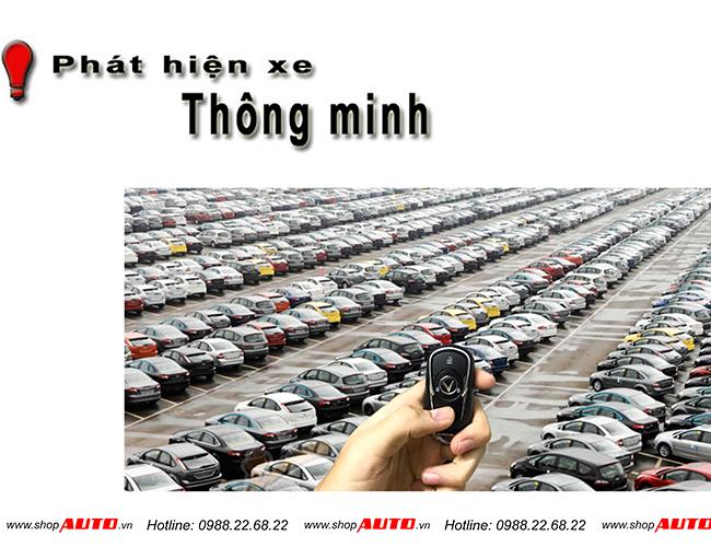 Tìm kiếm vị trí của xe