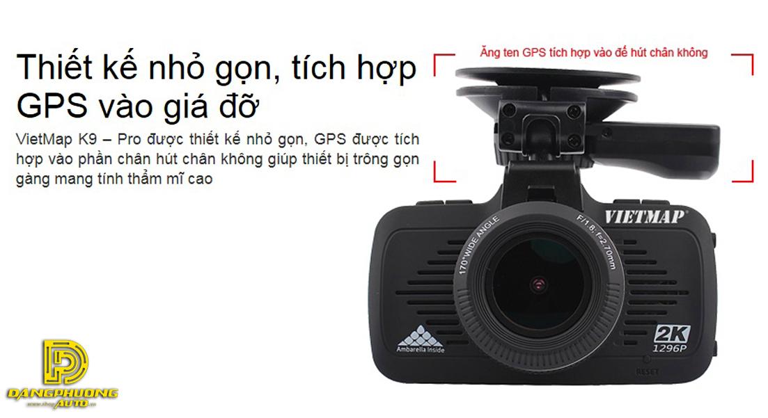 Camera hành trình Vietmap K9 Pro siêu HD 2K chính hãng