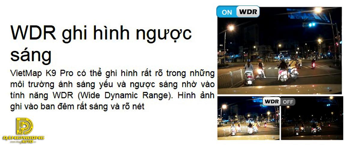 WDR camera hành trình vietmap k9 pro