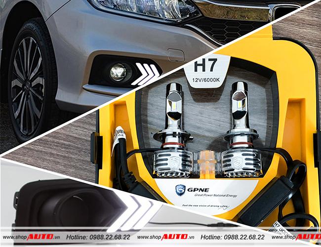 đèn led cho xe Honda HRV