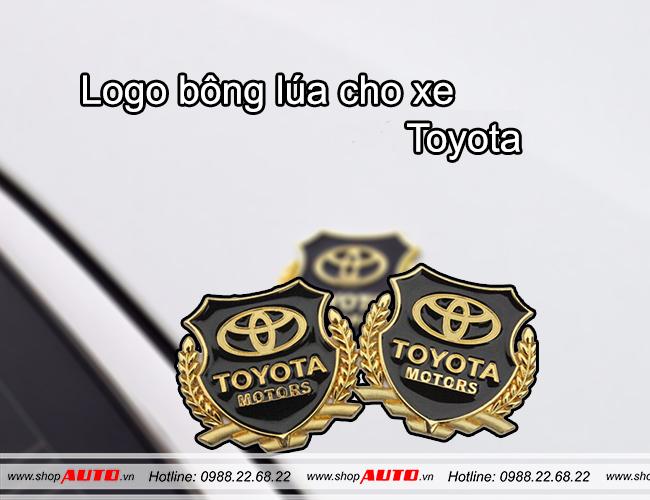 Huy hiệu logo xe hơi TOYOTA