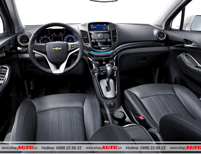 Nội thất xe Chevrolet Orlando