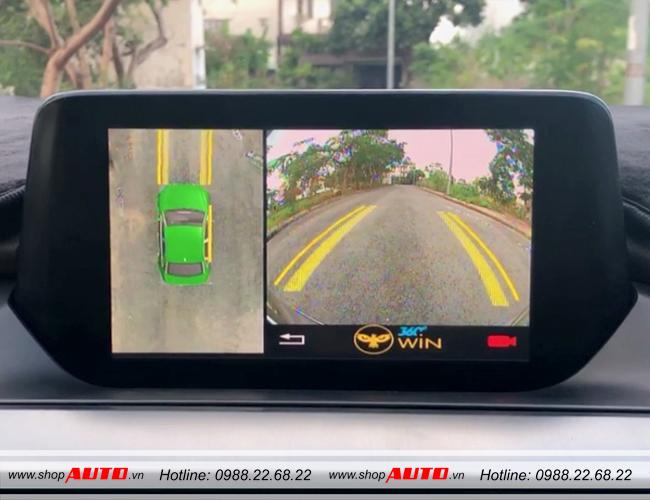 Camera 360 độ cho xe Mazda BT50