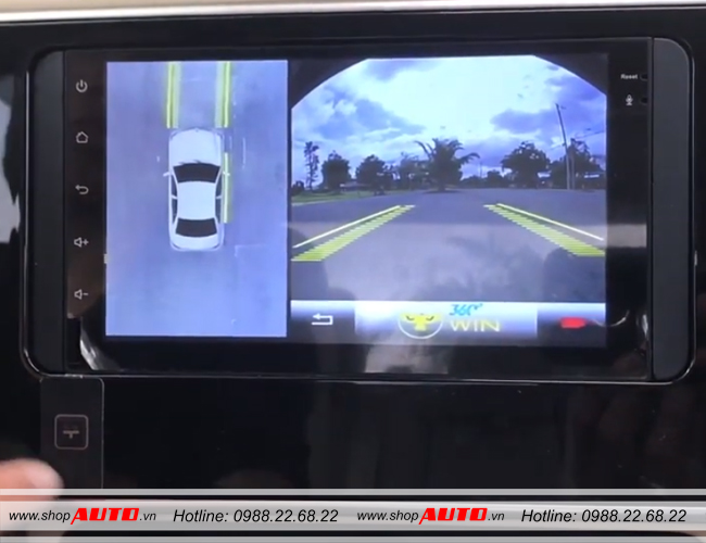 Camera 360 độ cho xe Toyota Corolla Altis