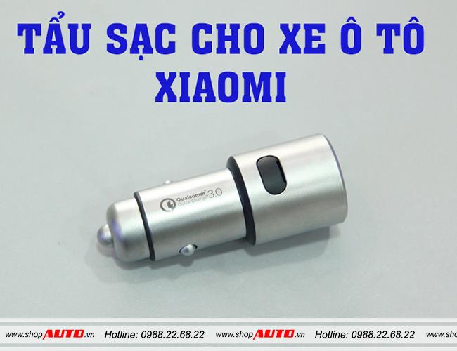 Sạc ô tô 2 USB Xiaomi cho xe Toyota AvanzaSạc ô tô 2 USB Xiaomi cho xe Toyota Avanza