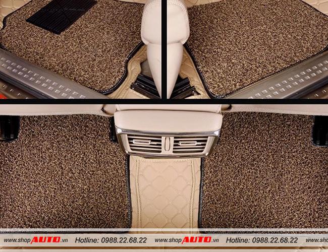 Thảm lót sàn cho xe ô tô Nissan Tiida