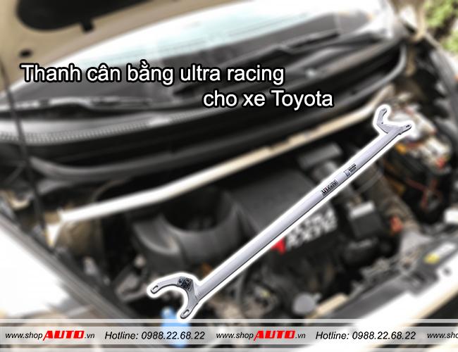 Thanh cân bằng ultra racing cho xe Toyota