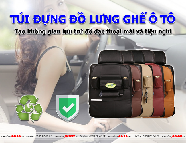 Túi đựng đồ xe ô tô
