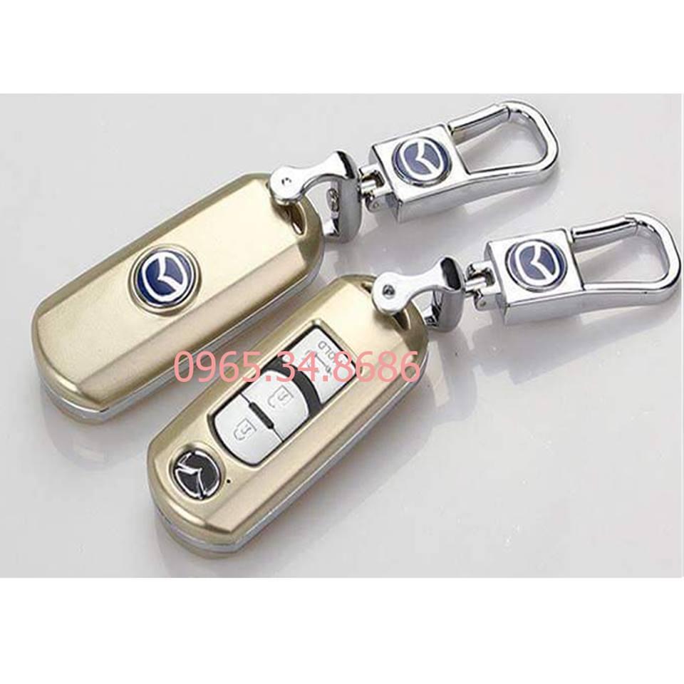 Vỏ chìa khóa xe MAZDA màu vàng