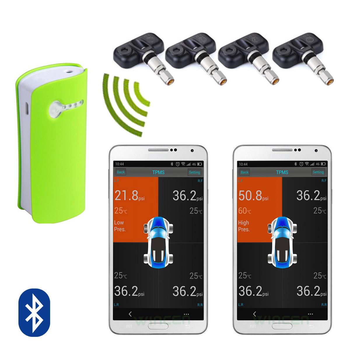 Cảm biến áp suất lốp X6 cho điện thoại IOS và Adroid (bluetooth 4.0)