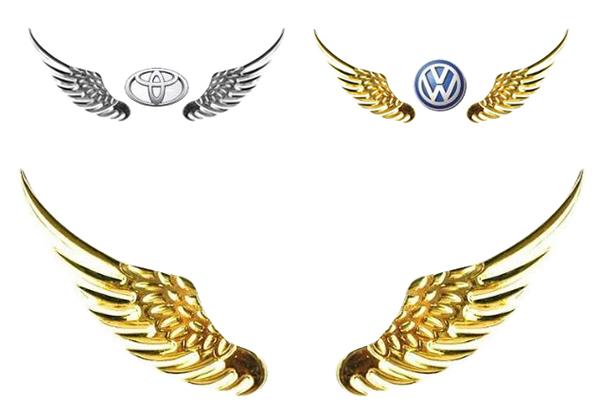 cánh thiên thần cho ô tô